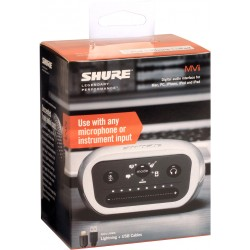 Interfaz USB SHURE MVI/A-LTG