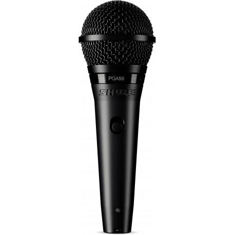 Microfono SHURE PGA58 BTS