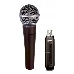 Microfono SHURE SM58 X2U