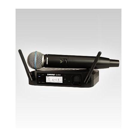 Sistema inalambrico SHURE GLXD24E/B58 Z2