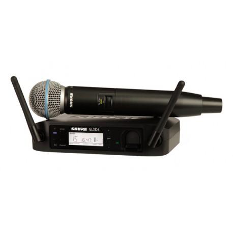 Sistema inalambrico SHURE GLXD24RE/B58-Z2