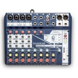 Mezclador SOUNDCRAFT NOTEPAD-12FX