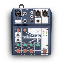 Mezclador SOUNDCRAFT NOTEPAD-5