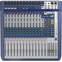 Mezclador SOUNDCRAFT SIGNATURE 16