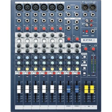 Mezclador SOUNDCRAFT EPM6