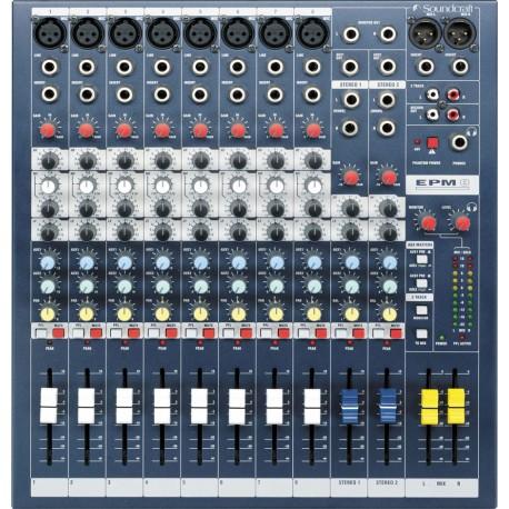 Mezclador SOUNDCRAFT EPM8