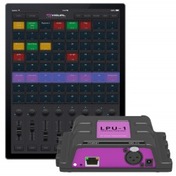 Control DMX VISUAL PRODUCTIONSCuety LPU