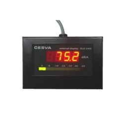 Display CESVA DL3E para limitador de sonido